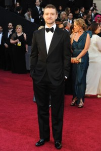 Yet another Tom Ford champion, Justin Timberlake at the 2011 Academy Awards. (Frazer Harrison/Getty Images)
