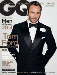 GQ named Ford named  Designer of the Year in 2013.
