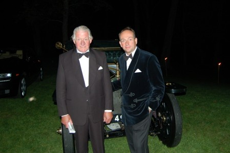 Henry Poole & Co owners  Angus and Simon Cundey at the 2011 Autumn Ball.  (Rich Donnelly)